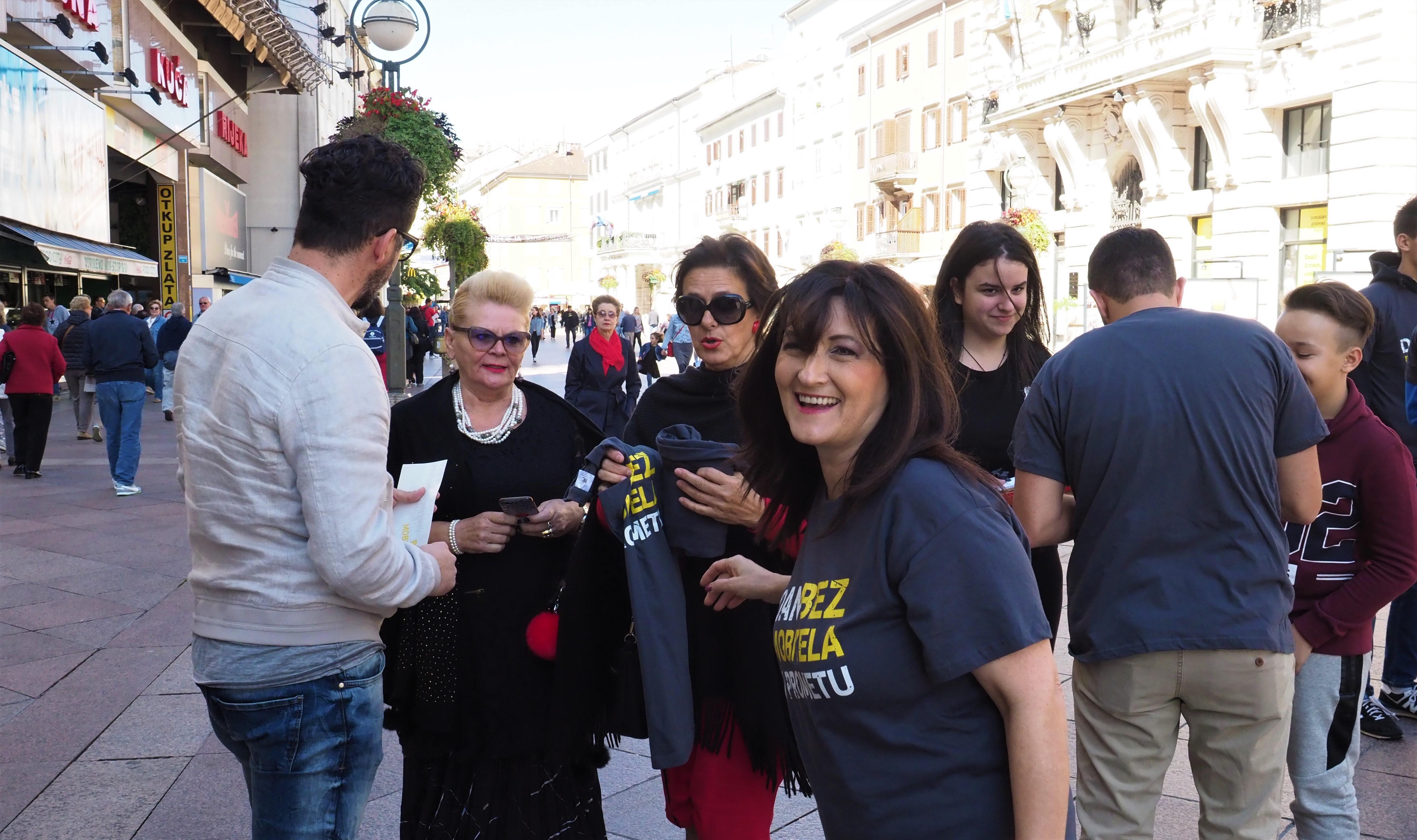 Dan bez mobitela u prometu, Renata Ivanović, kampanja, mobitel, nesreća, Jamin Mekić, Rijeka, aplikacija