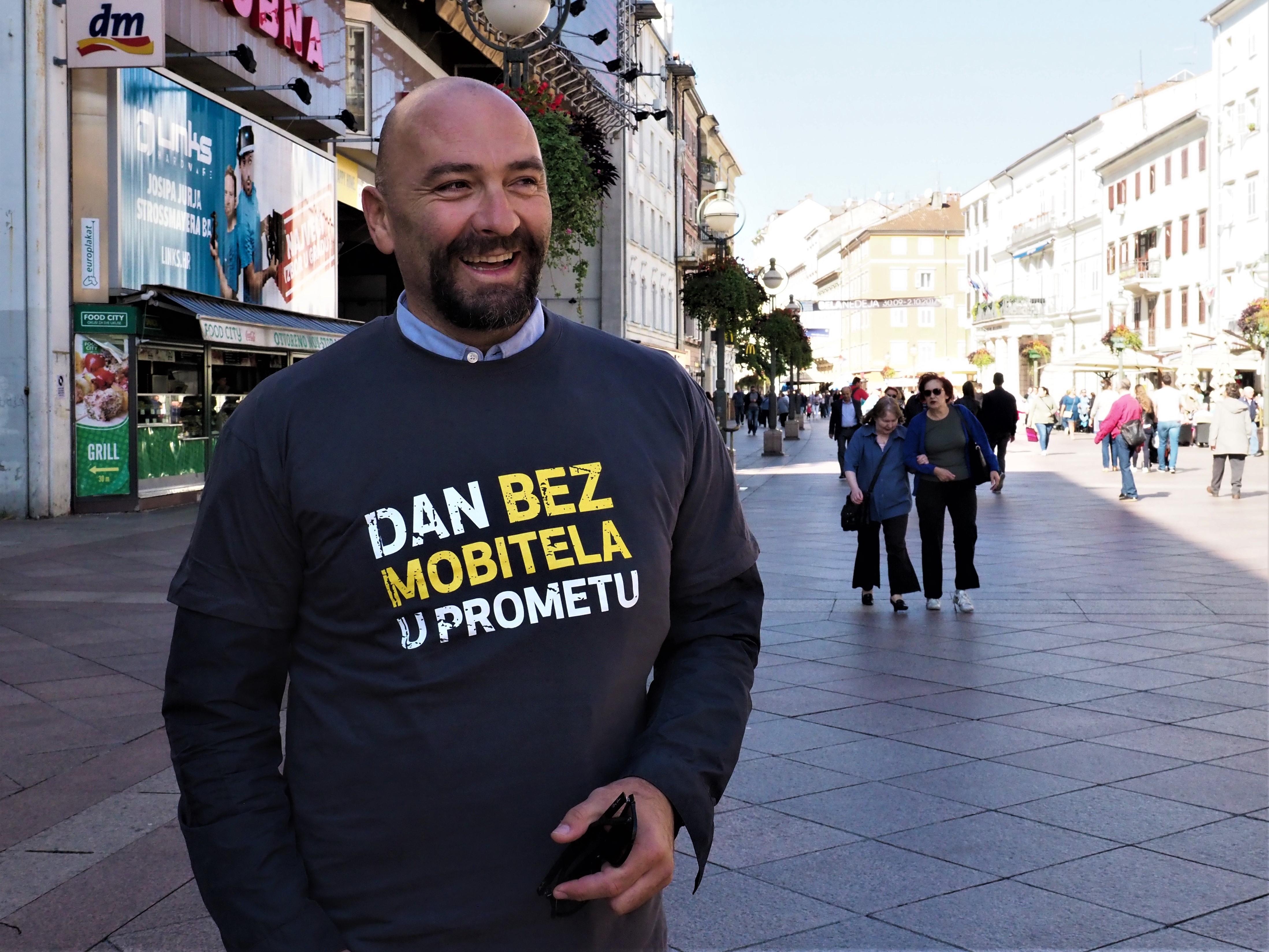Samir Barać, Riječki sportski savez, Rijeka, aplikacija, Dan bez mobitela u prometu, mobitel, kampanja